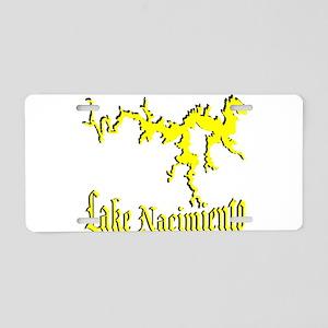 LAKE NACIMIENTO [4 yellow] Aluminum License Plate
